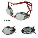 【スイムゴーグル】SWANS スワンズ ノンクッション スイミングゴーグル ミラータイプ 水泳 SR-1MEV-SMSI