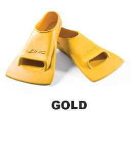 【水泳練習用具】【SOL20501】FINIS ZOOMERS(ズーマーズ) フィン(ゴールド)