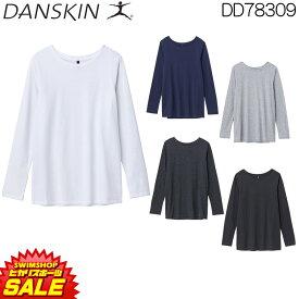 ダンスキン DANSKIN RECOVER TECH Tシャツ ロングスリーブT レディース RECOVER TECH 2018年秋冬モデル DD78309-HK