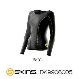 【クーポン利用で更にお値引き】SKINS スキンズ A200 DNAMIC CORE ウイメンズ ロングスリーブトップ DK9906005-HK