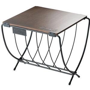 ロゴス ■ワイド薪ラックウッドテーブル 81064183