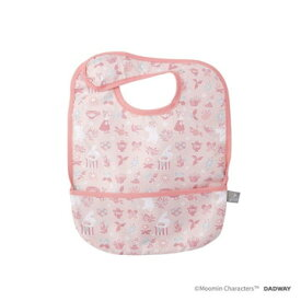 DADWAY ■お食事ビブ/フラワーブロック(ピンク) BBMB003133200
