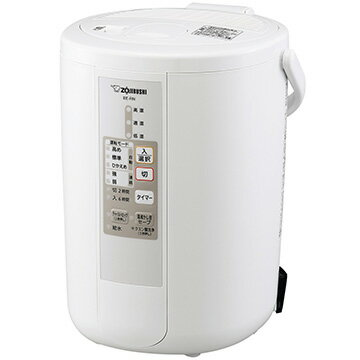 【3日間限定 エントリーでP10倍】象印 スチーム式加湿器 加湿量480ml/h ホワイト EE-RN50-WA
