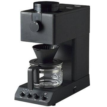 【3日間限定 エントリーでP10倍】ツインバード 全自動コーヒーメーカー 3杯分 ブラック CM-D457B