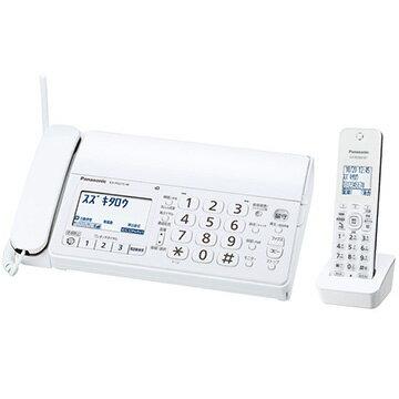 パナソニック デジタルコードレス普通紙FAX(子機1台)(ホワイト) KX-PD215DL-W