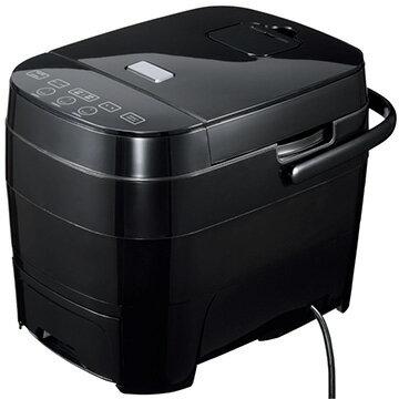 ヒロコーポレーション 糖質カット炊飯器 ブラック HTC-001BK