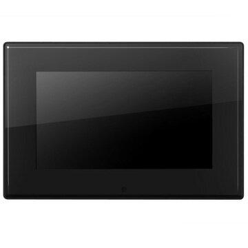グリーンハウス 7インチ デジタルフォトフレーム(800480) 内蔵メモリ2GB 簡易パッケージ ブラック DF7FKBULK