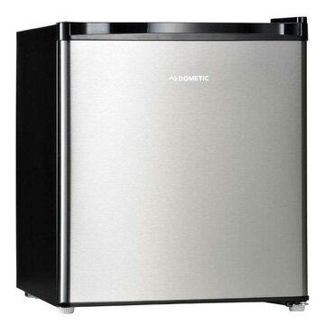 ドメティック 1ドア冷蔵庫 42L シルバーステンレス&ブラック DS42