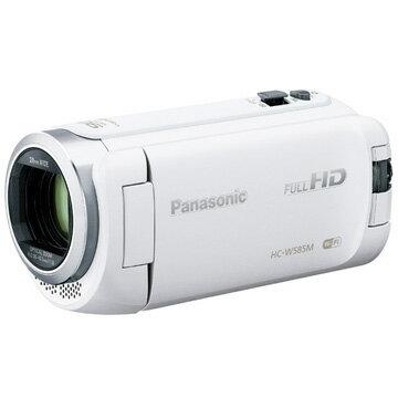 パナソニック デジタルハイビジョンビデオカメラ W585M 内蔵メモリー 64GB ホワイト HC-W585M-W