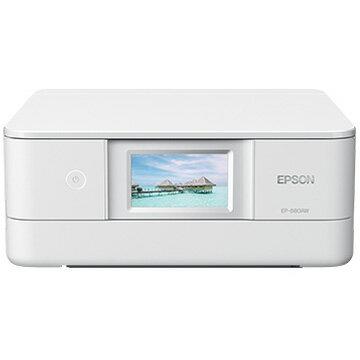 【スマホエントリー限定+P10倍(14日10:00-21日9:59まで)】EPSON A4IJプリンター/多機能/Wi-Fi/4.3W/ホワイト EP-880AW