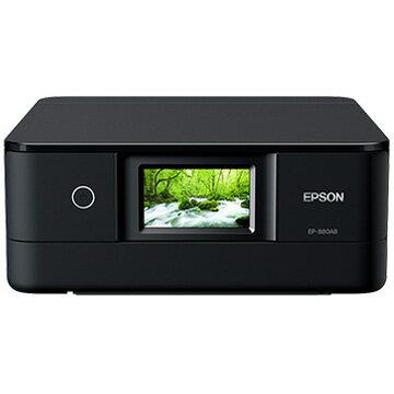 EPSON A4IJプリンター/多機能/Wi-Fi/4.3W/ブラック EP-880AB