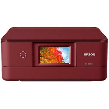 【スマホエントリー限定+P10倍(14日10:00-21日9:59まで)】EPSON A4IJプリンター/多機能/Wi-Fi/4.3W/レッド EP-880AR