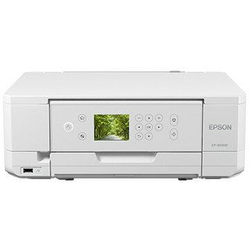 エプソン A4IJプリンター/多機能/Wi-Fi/2.7型液晶/ホワイト EP-810AW