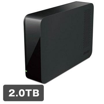 バッファロー USB3.1(Gen1)/USB3.0用 外付けHDD 2TB ブラック HD-NRLC2.0-B