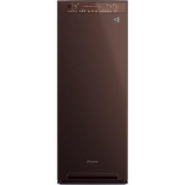 ダイキン工業 加湿ストリーマ空気清浄機 スリムタワー型 ディープブラウン MCK55U-T