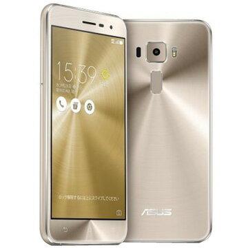ASUS ZenFone3 5.2inch クリスタルゴールド ZE520KL-GD32S3