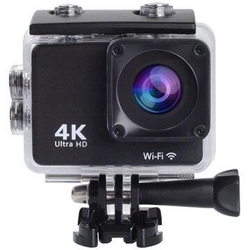 【スマホエントリー限定+P10倍(14日10:00-21日9:59まで)】SAC 4K録画対応アクションカメラ リストバンドリモコン付属 ブラック MC8000BK