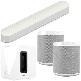 Sonos Beam + Sub + One SL×2 5.1chセット ホワイト