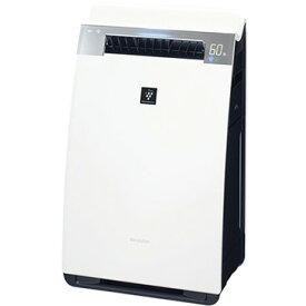 シャープ 加湿空気清浄機 ハイグレードモデル プラズマクラスター25000 ホワイト KI-HX75-W