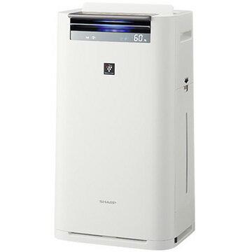 【期間限定 エントリーでP5倍】 シャープ 加湿空気清浄機 プラズマクラスター25000 ホワイト KI-HS70-W