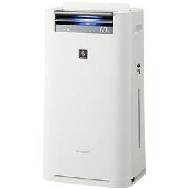 【お買い物マラソン期間クーポン】 シャープ 加湿空気清浄機 プラズマクラスター25000 ホワイト KI-HS50-W