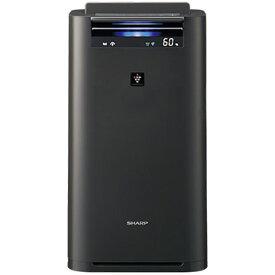 シャープ 加湿空気清浄機 プラズマクラスター25000 グレー KI-HS50-H