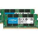 Crucial 内蔵メモリ 16GB Kit (2 x 8GB) DDR4-3200 SODIMM CT2K8G4SFS832A