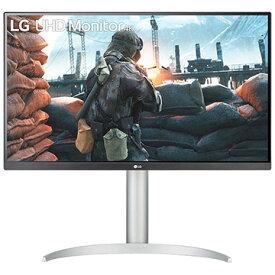 LG 27型 4K IPS DCI-P3 VESA Display HDR400 HDMIx2 DPx1 高さ調整 110mm Pivot 27UP650-W