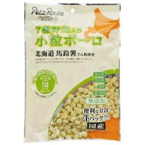 株式会社 ペッツルート ■7種野菜入り 小粒ボーロ 56g(14g×4袋)