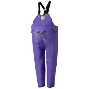 ロゴス ■マリンエクセル 胸当付ズボン膝当て付(サスペンダー式) パープル L
