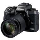 CANON EOS M5 EF-M18-150 IS STM レンズキット ブラック EOSM5-18150ISSTMLK