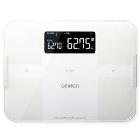 OMRON 体重体組成計 カラダスキャン ホワイト HBF-255T-W