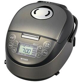 タイガー魔法瓶 IH炊飯器 炊きたて 3合炊き サテンブラック JPF-A550-K