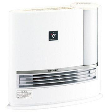 シャープ 加湿セラミックファンヒーター プラズマクラスター搭載 アイボリーホワイト HX-H120-W