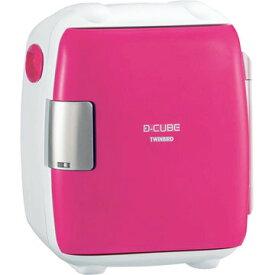 ツインバード 2電源式 コンパクト電子保冷保温ボックス DCUBE S ピンク HR-DB06P