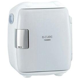 ツインバード 2電源式 コンパクト電子保冷保温ボックス DCUBE S グレー HR-DB06GY