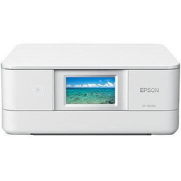【期間限定 スマホからエントリーでP10倍】 EPSON A4インクジェット複合機 Colorio ホワイト EP-881AW