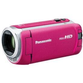 パナソニック デジタルハイビジョンビデオカメラ (ピンク) HC-W585M-P