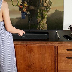 SonosBeamコンパクトサウンドバーAmazonAlexa搭載ブラックBEAM1JP1BLK