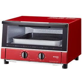 タイガー魔法瓶 オーブントースター やきたて レッド KAM-S130-RG