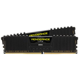 Corsair デスクトップ用 VENGEANCE LPX PC4-21300 DDR4-2666 32GB 16GBx2 CMK32GX4M2A2666C16
