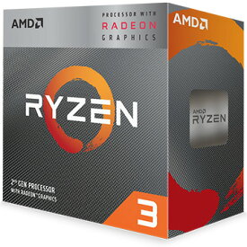 AMD CPU Ryzen 3 3200G クーラー付 (4C4T3.6GHz65W) YD3200C5FHBOX