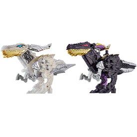 バンダイ 騎士竜シリーズ08&09 DXシャインラプター&シャドーラプターセット[騎士竜戦隊リュウソウジャー]