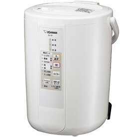 象印 スチーム式加湿器 加湿量480ml/h ホワイト EE-RP50-WA