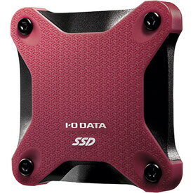 IODATA USB 3.1 Gen 1対応ポータブルSSD 960GB 赤 SSPH-UT960R