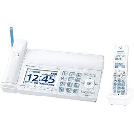 Panasonic デジタルコードレスファクス(子機1台)(ホワイト) KX-PD725DL-W