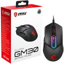 MSI マウス Clutch GM30 GAMING Mouse ClutchGM30GAMINGMouse