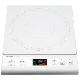 YAMAZEN 山善 IH調理器 1400W カラー液晶 YEJ-L130(W)