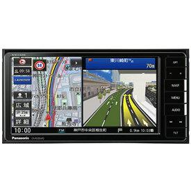 Panasonic ストラーダ 7V型ワイド メモリーナビ/地デジ/DVD/Bluetooth対応 CN-RE06WD