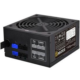 Silver Stone セミモジュール式フラットケーブル80 Plus GOLD電源 550W SST-ET550-HG